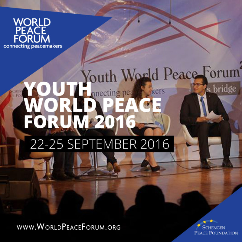Youth World Peace Forum 2016